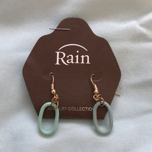 NWT Turquoise and gold earrings